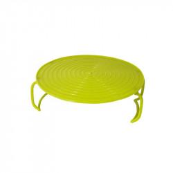 Grossiste et fournisseur. Support assiette micro-ondes vert