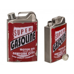 Grossiste flasque acier imitation bidon essence