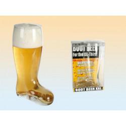 Grossiste verre à bière forme botte