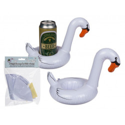 Grossiste support canette gonflable cygne