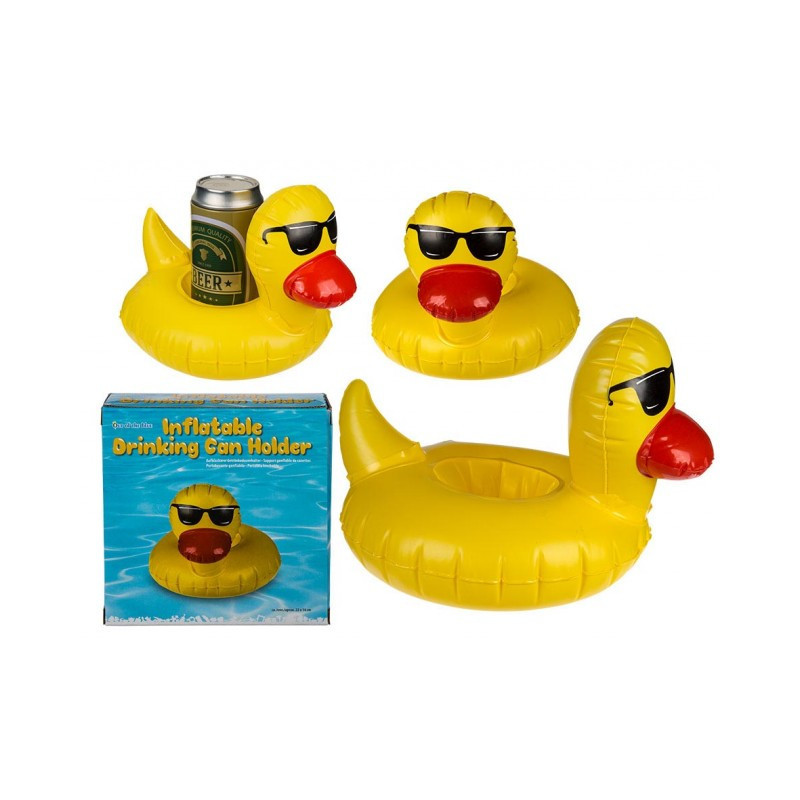Grossiste support canette gonflable canard