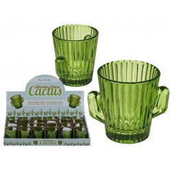 Grossiste shooter cactus en verre