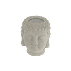 Grossiste photophore buddha 7.5x8x9.5 cm