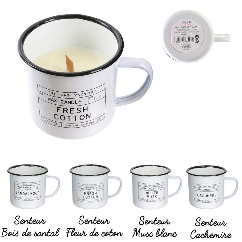 Grossiste bougie mug The Lab Concept 1957