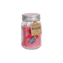 Grossiste bougie Mason jar spécial astrologie rose