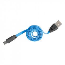 Grossiste et fournisseur. Câble micro USB LED bleu pour charger et synchroniser