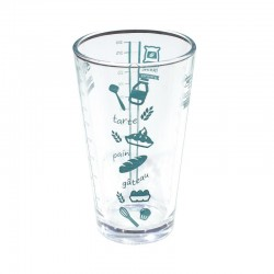 Measuring glass