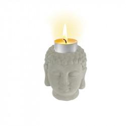 Grossiste photophore buddha - 7.5x8x9.5 cm