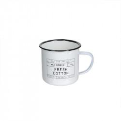 Grossiste bougie mug The Lab Concept 1957 - Fresh cotton