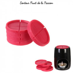 Grossiste cire parfumée fuchsia x5