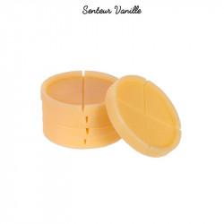 Grossiste cire parfumée jaune x5