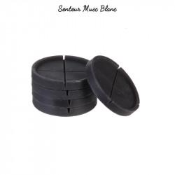 Grossiste cire parfumée noire x5