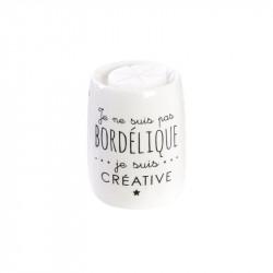 Grossiste brûle-parfum ludique blanc