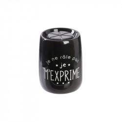 Grossiste brûle-parfum ludique noir