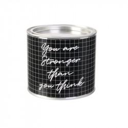 Grossiste bougie pot métal spécial travail noire