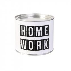 Grossiste bougie pot métal spécial travail blanche