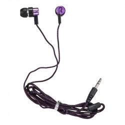 Grossiste et fournisseur. Écouteurs câble nylon violets