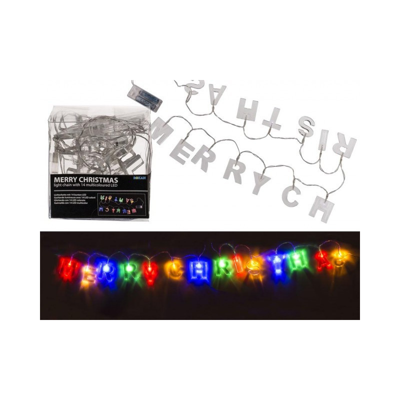 Grossiste guirlande lumineuse led merry christmas