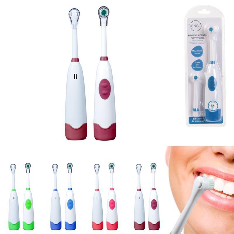 Grossiste et fournisseur. Brosse à dents électrique avec tête x 1