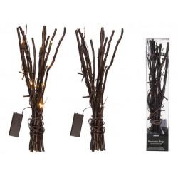 Grossiste branchage décoratif marron avec 20 led