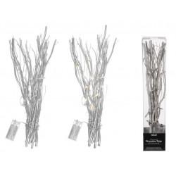 Grossiste branchage décoratif blanc avec 20 led
