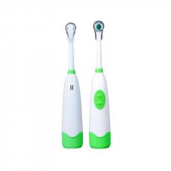 Grossiste et fournisseur. Brosse à dents électrique avec tête x 1 verte