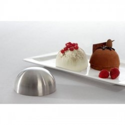 Wholesaler and supplier. Stainless steel silver shaper domes
