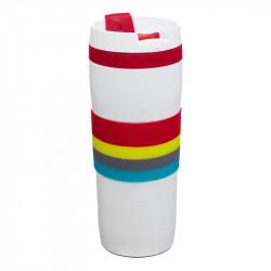 Grossiste et fournisseur. Mug de transport isotherme étanche rouge