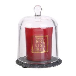 Grossiste bougie cloche sur ardoise rouge