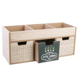 Grossiste rangement 3 tiroirs avec compartiments