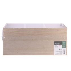 Grossiste rangement 3 tiroirs avec compartiments dos