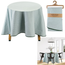 Grossiste nappe ronde feuillage 180cm