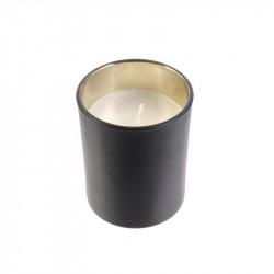 Grossiste boite de bougie en verre bohème noire