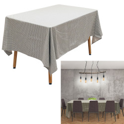 Grossiste nappe rectangle avec motif feuillage 140x240cm