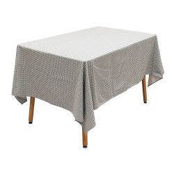 Grossiste nappe rectangle avec motif feuillage 140x240cm