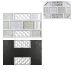 Grossiste pêle-mêle composé de 8 cadres 60x38.5x2.2cm