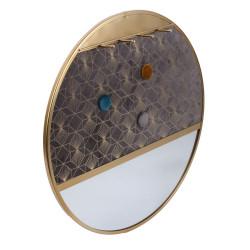 Grossiste miroir porte-bijoux décoratif - d40.5cm