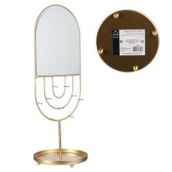 Grossiste porte bijoux miroir en forme ovale