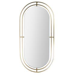 Grossiste miroir doré en métal