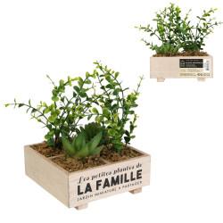 Grossiste plante artificielle Jardin miniature à partager spécial famille