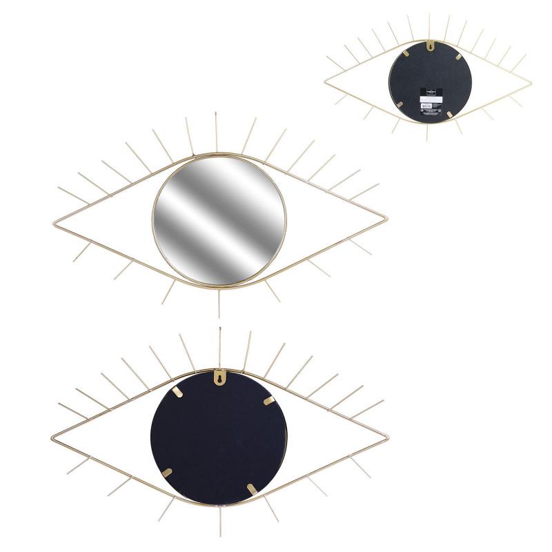 Grossiste miroir oeil doré 35x55cm