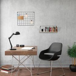 Grossiste étagère bois métal rectangle