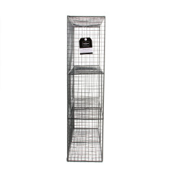 Grossiste étagère grillage en métal 50x15x60cm