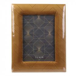 Grossiste cadre photo de velours - 13x18cm vert