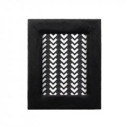 Grossiste cadre photo de velours - 13x18cm noir