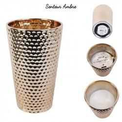Bougie vase en céramique...