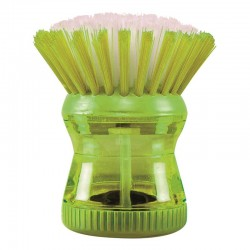 Soap dispensing sink brush