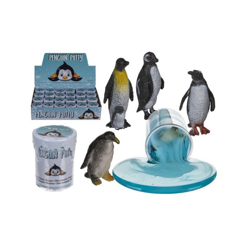 Grossiste pot pâte à modeler avec pingouin