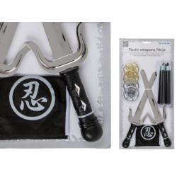 Grossiste set armes ninja en plastique