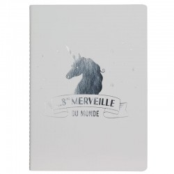 A5 unicorn notebook - 40 pages